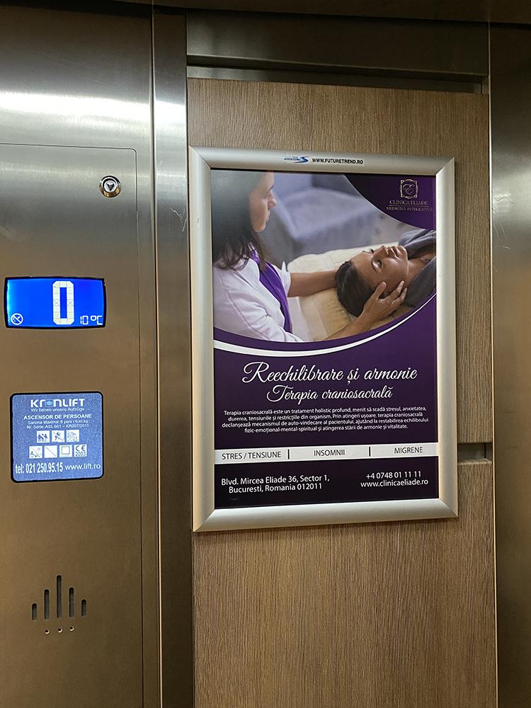 Promovarea în lift Metropolitan